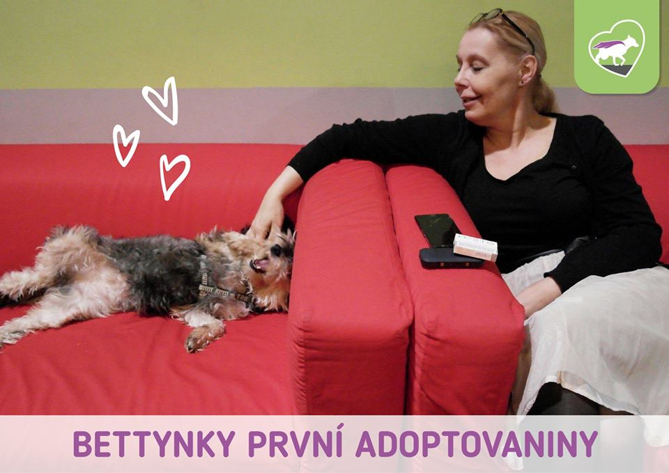 Bettynky první adoptovaniny