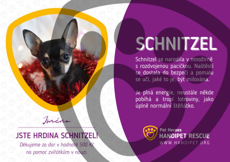 Osvědčení vánočního hrdiny: Schnitzel